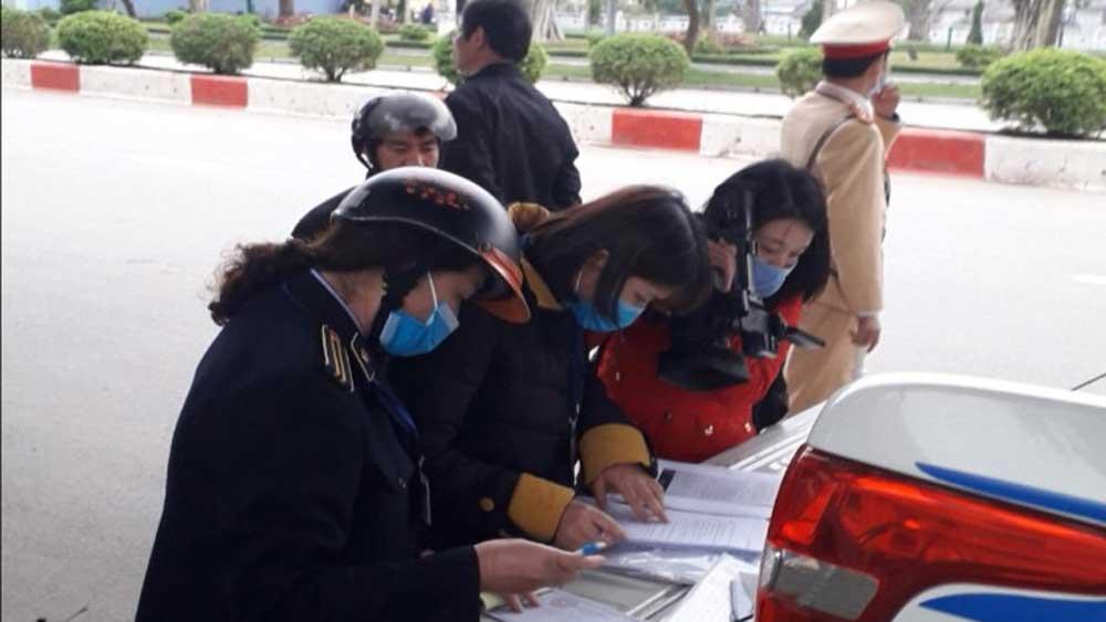 Lạng Sơn xử phạt 12 trường hợp không đeo khẩu trang nơi công cộng